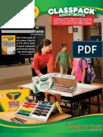 Crayola Classpack Promotion