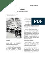 Ciclismo prevención