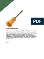 Evolucion de La Guitarra