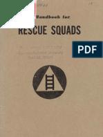 A Handbook for Rescue Squads