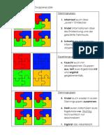 Anleitung Gruppenpuzzle