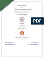 Sysnopsis Prajay Patel