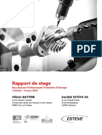 Rapport de Stage Olivier BATTINI Final