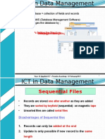 ICT in Data Management