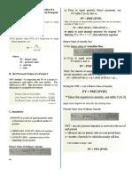 Formula Sheet TVM