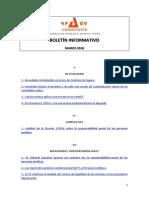 Boletín Informativo RP&GY Abogados - Marzo de 2016
