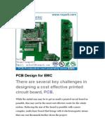 PCB Design for EMC