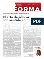 El arte de educar con sentido común