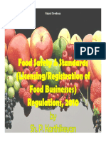 Presentation on Food Safety & Standards(  Licensing Registration of Food Businesses)Regulations, 2010 by Sh.P.Karthikeyan.pdf