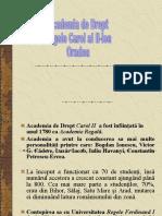 Academia de Drept Regele Carol Al-II-lea