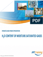 3 Water Content of Moisture Saturated Gas