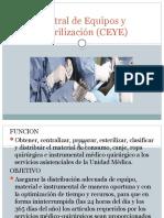 Central de Equipos y Esterilización (CEYE)