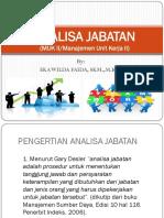 2. ANALISA JABATAN