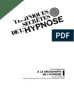 Techniques Secrètes De l'Hypnose - Volume 1 - À La Découverte De L'Hypnose.pdf