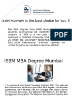 ISBM MUMBAI is the best choice for you!!!!