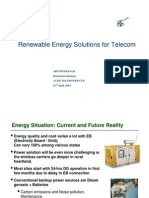 Renewable Energy Solutions for Telecom-ACME