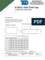 Heat Shrink Cable End Caps 3M SKE15 40 15 32mm Cables