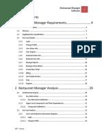 Restaurant Manager Software