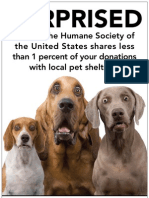 HumaneWatch Surprised? Ad