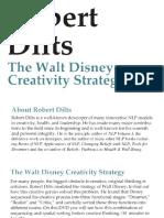 Robert Dilts - Walt Disney Creativity Strategy (1992)