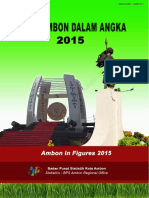 Kota Ambon Dalam Angka 2015