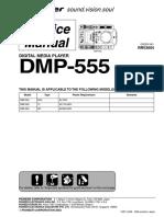 Pioneer Dmp-555 Sm