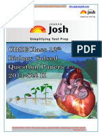 Cbse Class 12th Biology Solved Question Paper 2011 Set-II eBook