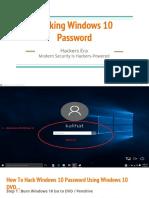 hacking windows 10 password 1
