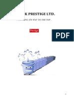 Strategic Analysis of TTK PRESTIGE LTD.