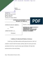 04-05-2016 ECF 365 USA v A BUNDY et al - Memorandum in Opposition to Motion on Protective Order