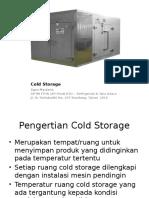 Cold Storage-1 Pertemuan 1&2