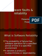 Software Faults -& Reliability