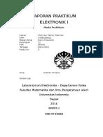 Laporan Pendahuluan Praktikum Elektronika 2
