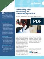 1. Lab Test Monitering