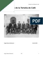 Informe de La Tertulia de Café
