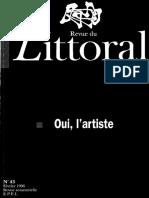 Littoral 43 revue psychanalytique