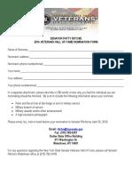 2016 Veterans Hall of Fame Nomination Form