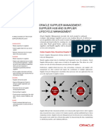 Supplier Lifecycle Management