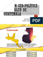 División Geo-política y de Salud de Guate