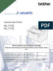 Manual usuario HL1110 impresora Brother