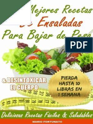 ensaladas para bajar de peso pdf editor