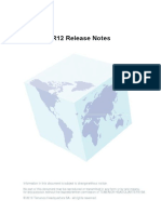 R12 Release Notes