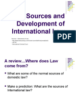 2 sources and development of international law