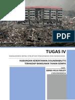 Hubungan Kerentanan Terhadap Bangunan Tahan Gempa