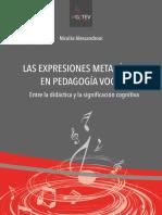 Las Expresiones Metafóricas en Pedagogía Vocal - Alessandroni (1)