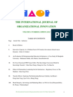 Oraganizationl Innovation Final Issue Vol 4 Num 4 Spring 2012