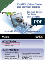 EVHEV Value Chain and Battery Design - Comprehensive Solution Presentation