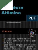 Capitulo 1 - Estrutura Atomica