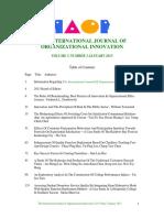 International Journal of Organisational InnovationFinal Issue Vol 5 Num 3 January 2013 v3