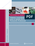 FTP Criterios Curriculares